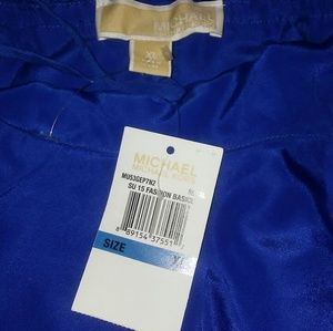 Michael kors royal blue jumpsuit